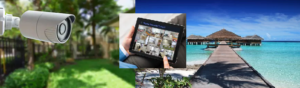 Secure home on vacation